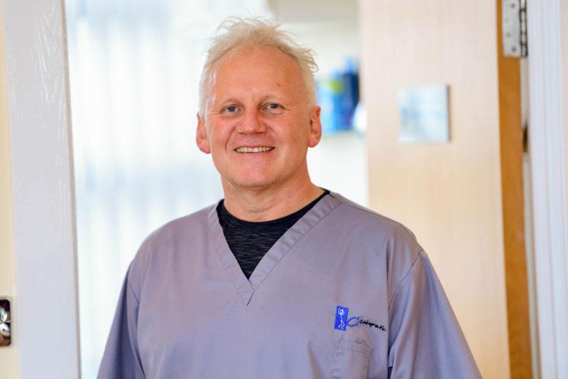 The best Chiropractor in Cardiff, Rainer Wieser