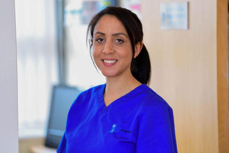 Cardiff podiatrist and chiropodist, Laura