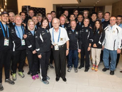 International Chiropractic Team at the World Games 2013