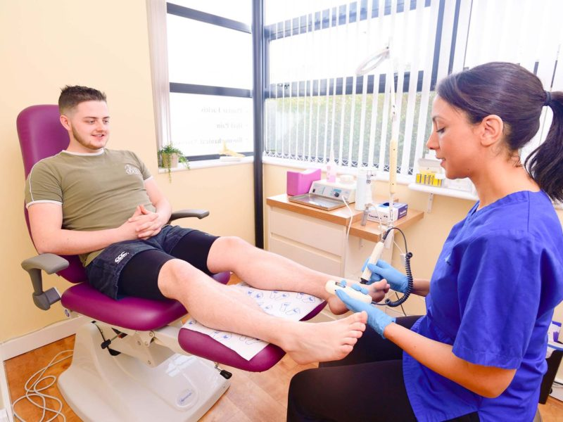 Chiropody foot care in Cardiff and Bridgend