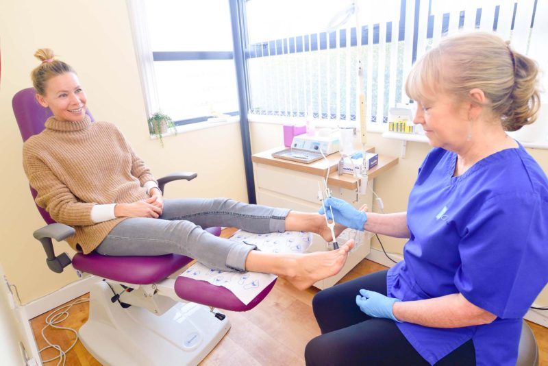 Chiropodist and Podiatrist treat your bunions in Cardiff