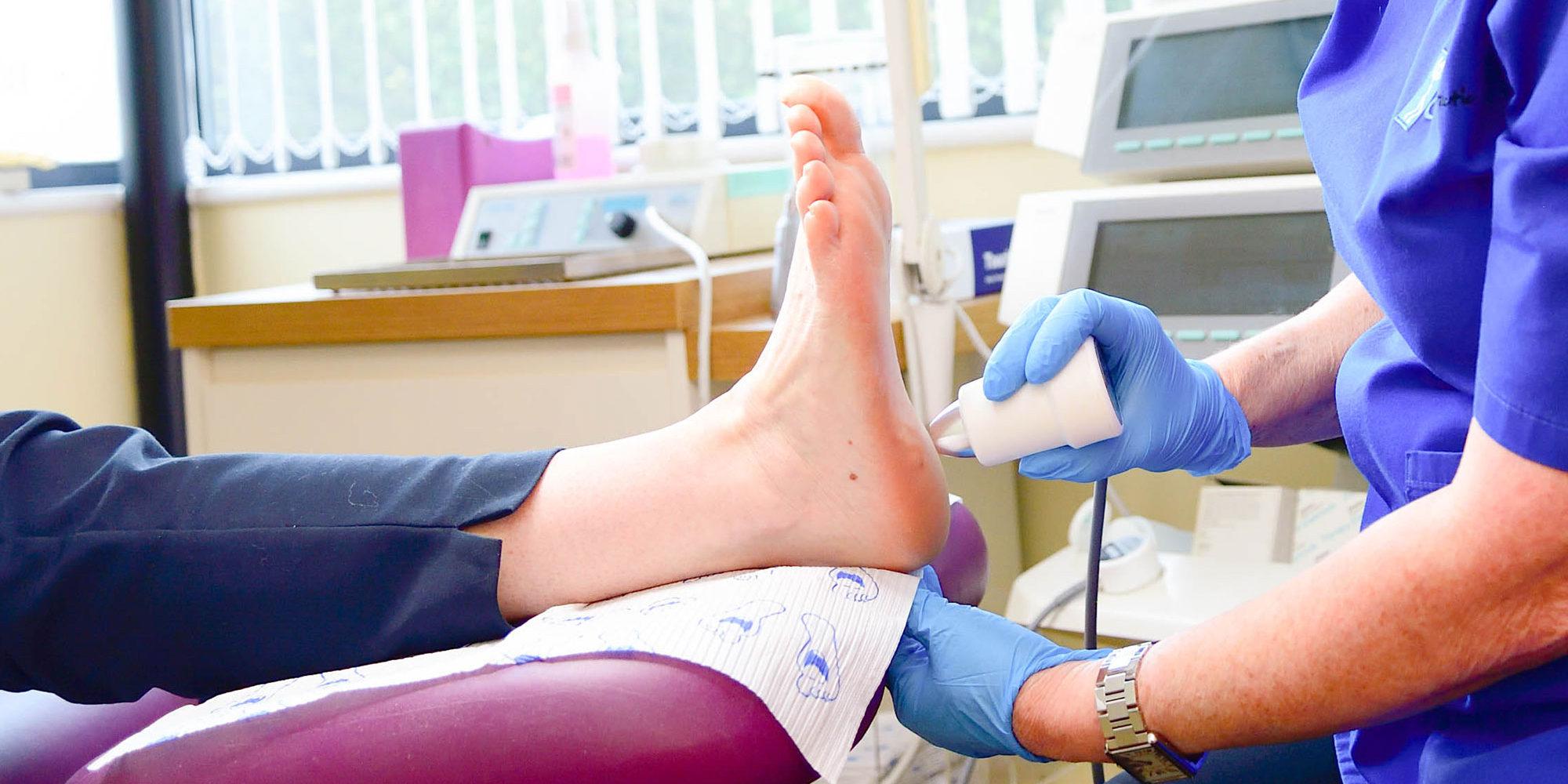 Podiatrist foot treatment Cardiff and Bridgend
