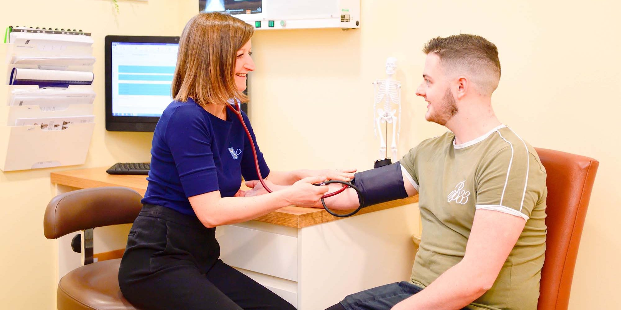 Annual Health Checkup with a chiropractor. Chiropractor in Whitchurch, Cardiff