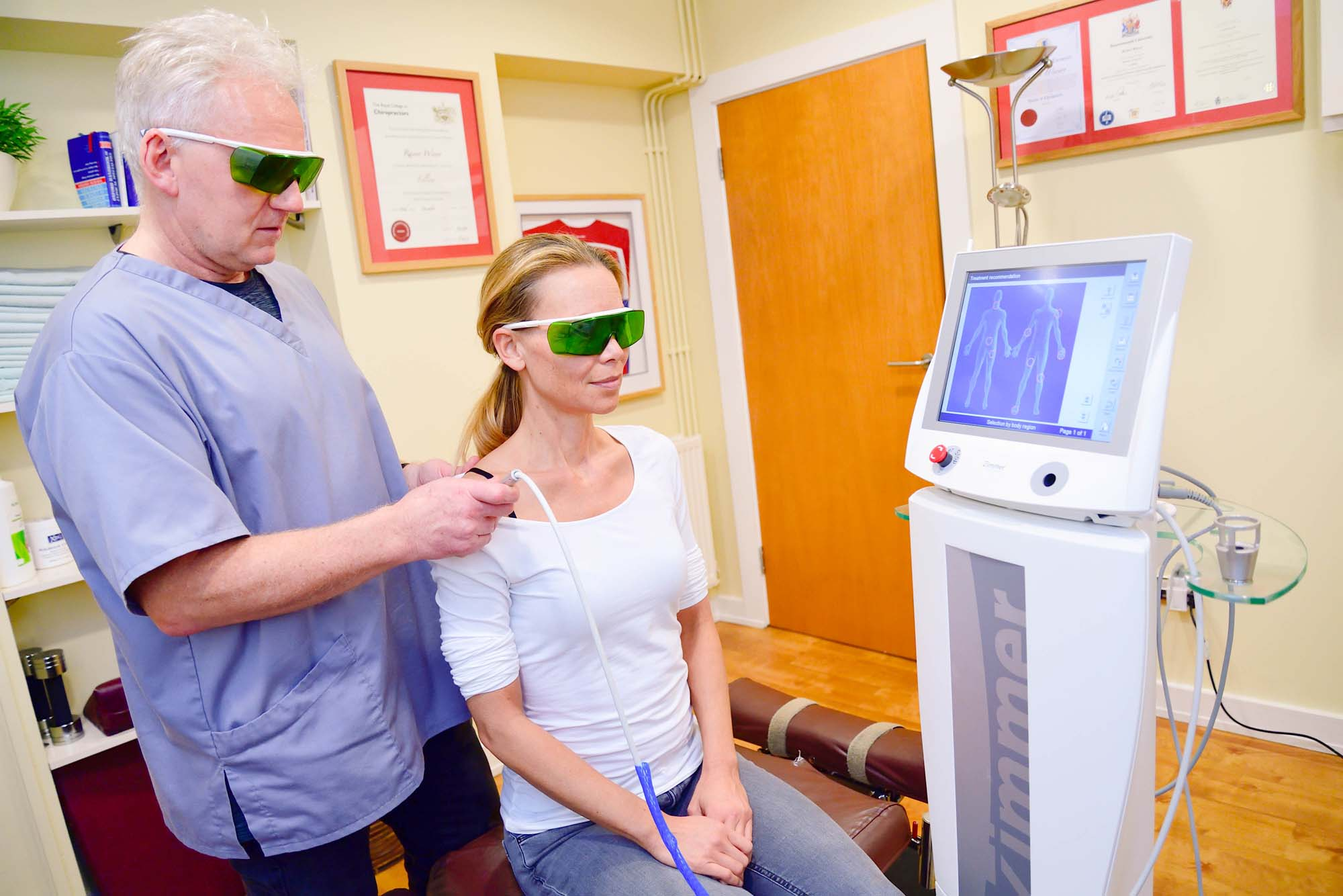 chiropractic laser therapy